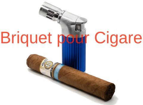 Briquet Torche Cigare