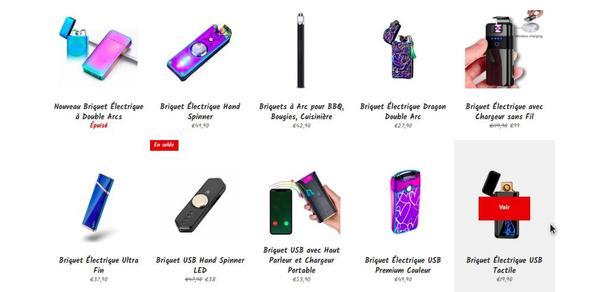 Collection Briquet USB