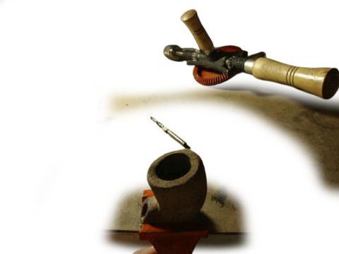 Fabrication de la pipe