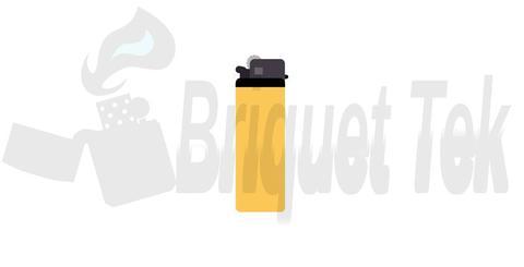 Briquet jetable